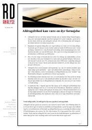 RD Analyse - Realkredit Danmark