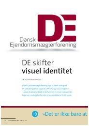 DE skifter visuel identitet - Dansk Ejendomsmæglerforening