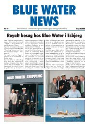 News August 2008.indd - Blue Water Shipping