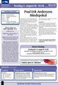 BANEPROGRAM TORSDAG 2. AUGUST KL. 18.00 • BANE 08 - Page 2