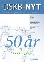 DSKB-Nyt 4/2006 - Dansk Selskab for Klinisk Biokemi
