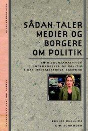 Sådan taler medier og borgere om politik - Aarhus Universitetsforlag