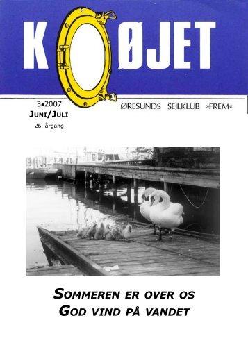 Nr. 3/2007 - Øresunds Sejlklub Frem
