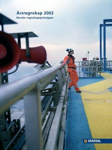 Årsregnskap 2002 - Statoil