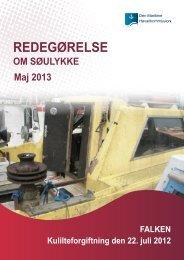REDEGØRELSE - Den Maritime Havarikommission