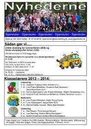 Nyhederne juni 2013 v2.pdf - Stjærskolen