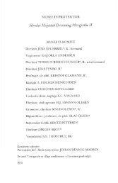 Museets komite, beretning, driftsregnskab og medlemsliste til ...