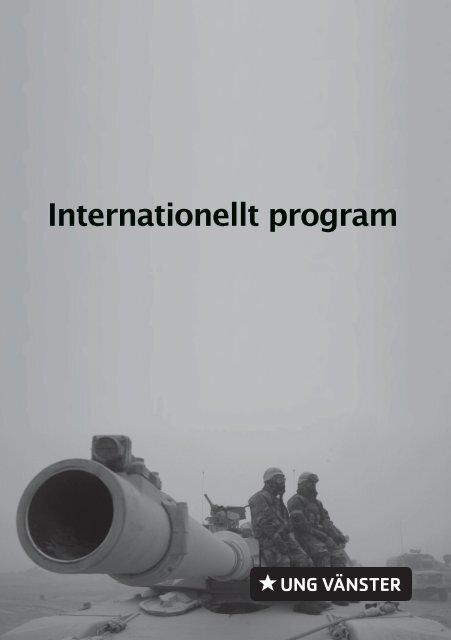 Internationellt program - Ung Vänster