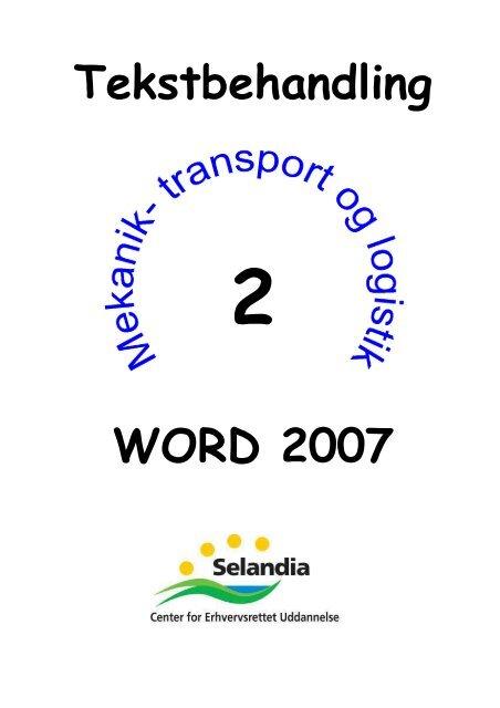 Undervisningsmateriale til Word 2007 - MTL