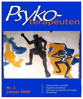 Nr. 1 Januar 2009 - Psykoterapeut Foreningen