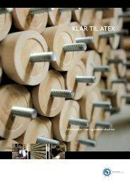 KLAR TIL ATEX - Industriens Branchearbejdsmiljøråd