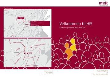 Rubrik Velkommen til HR - Region Midtjylland
