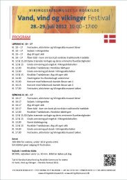 Download hele programmet her - Vikingeskibsmuseet