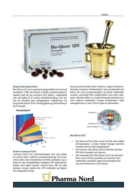 Hent Bio-Qinon Q10 30 mg infosheet - Pharma Nord