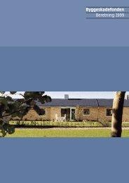 Årsberetning 1999 - Byggeskadefonden