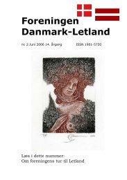Blad nr. 2 - 2006 - Foreningen Danmark - Letland
