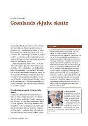 Grønlands skjulte skatte - Det grønlandske Selskab