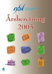 NBLs årsberetning 2005 - NHO Mat og Drikke