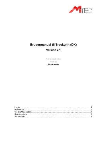Trackunit_Manual_SlutKunde_V2 1 - M-tec a