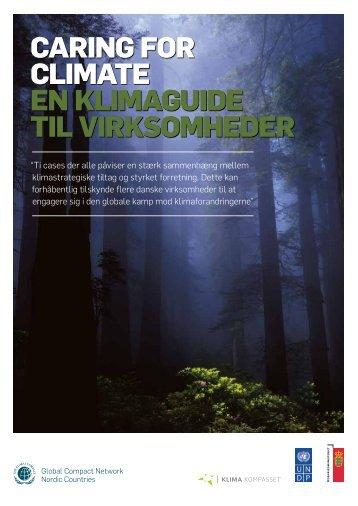 Caring for Climate en klimaguide til virksomheder - Samfundsansvar