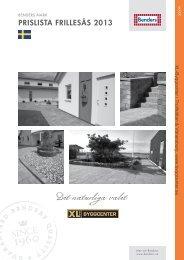 Benders Markprislista exkl.moms.pdf - XL Bygg