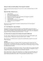 Referat fra generalforsamlingen den 22. marts 2012