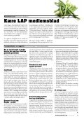 medlemsblad - LAP - Page 7