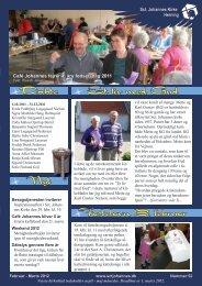 Et liv med Gud Fastelavn 19. februar Døbte Nyt - Sct. Johannes Kirke