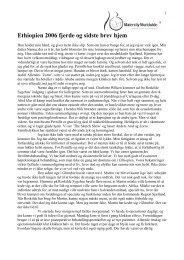 4. brev hjem fra gynaekolog Bjarke Soerensen - Maternity Worldwide