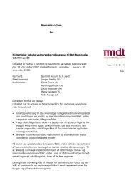 Kommissorium for udvalget - Region Midtjylland