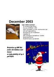 December 2003 - Aarhus Modelflyve Club