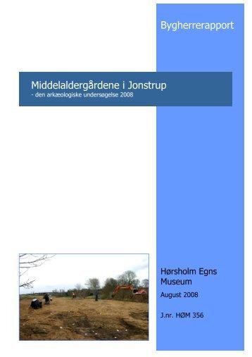 Middelaldergårdene i Jonstrup - Hørsholm Egns Museum