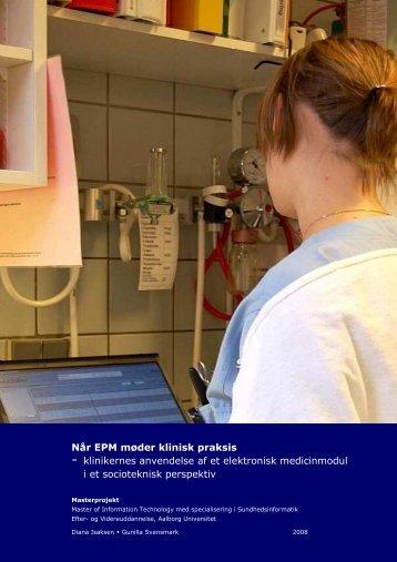 Når EPM møder klinisk praksis.pdf - Dansk Sygeplejeråd