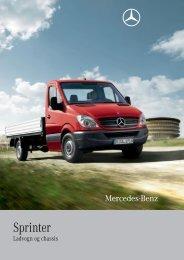 Brochurer til Sprinter Ladvogn og Chassiser