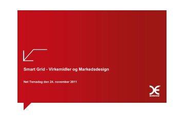 Smart Grid - Virkemidler og Markedsdesign - Energinet.dk