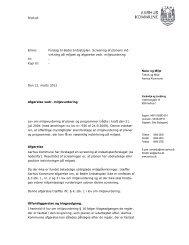 Screening for miljøvurdering af forslag til Beder ... - Aarhus.dk