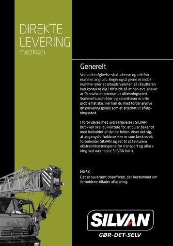 DIREKTE LEVERING - Silvan