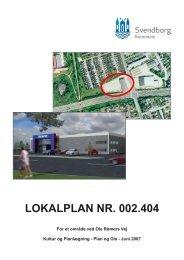 lokalplan nr. 002.404