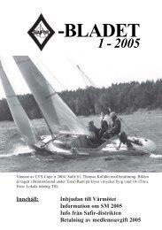 Safirblad 2005-1 - Dansk Safirklub
