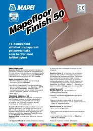Mapefloor Finish 50 Mapefloor Finish 50 - Mapei