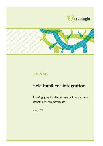 Hele familiens integration, Assens Kommune - LG insight
