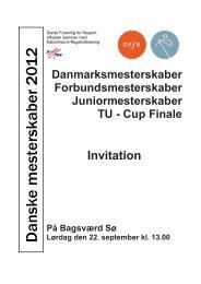 Danske mesterskaber 2012