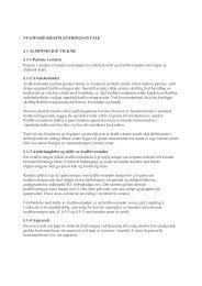 Standard kraftleveringsavtale - Forbrukerombudet