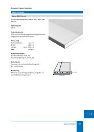 5.1.1 Gyproc gipsplader