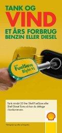 Betingelser for 'Tank og vind' - Shell Danmark
