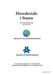 Hovedavtalen med Tilpasningsavtale for Forsvaret.pdf - Befalets ...