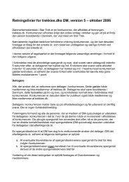 Retningslinier for trekkies.dks DM, version 5 – oktober 2006