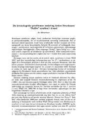 """De kronologiske problemer omkring Anton Bruckners """"Nulte"""" - dym.dk"""