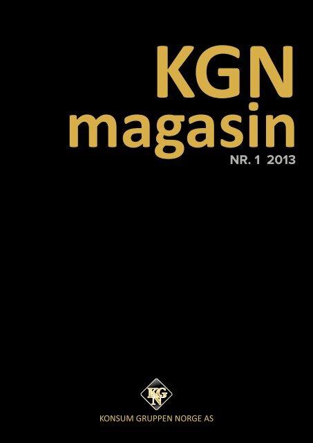nr. 1 2013 - Konsum Gruppen Norge AS