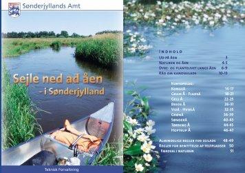 Sejle ned ad åen - i Sønderjylland - Vejen Kommune